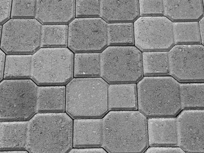 Interlocking Octogon Pavers