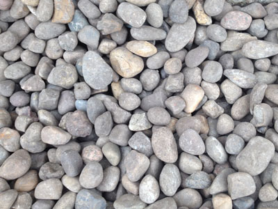 Screened Round Rock Gravel